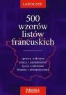 500 wzorów listów francuskich Ewa Krajewska-Wojciechowska