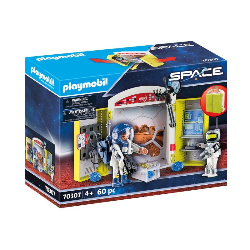 Playmobil Space: Play Box - Misja na Marsie (70307)