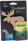 WoodLand Moose drewniana zakładka do książki - Łoś