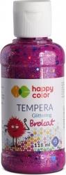 Farba tempera brokatowa 118ml - różowy (431624)