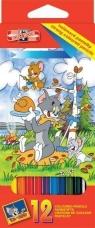 Kredki 12 kolorów Tom & Jerry