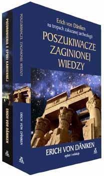 Pakiet - Poszukiwacze zaginionej wiedzy/Pozdrowienia z epoki kamienia Erich von Dniken