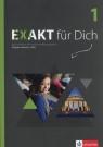 Exakt fur Dich 1 Książka ćwiczeń + DVD