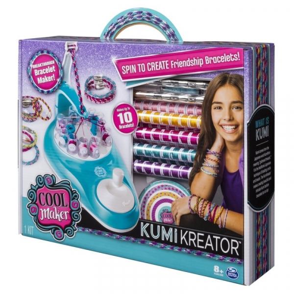 Cool Maker: Zestaw do tworzenia bransoletek - Kumi Kreator (6038301)
