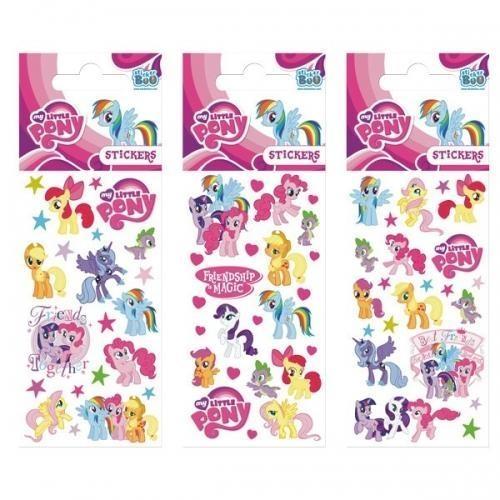 Naklejki Sticker BOO silver My Little Pony