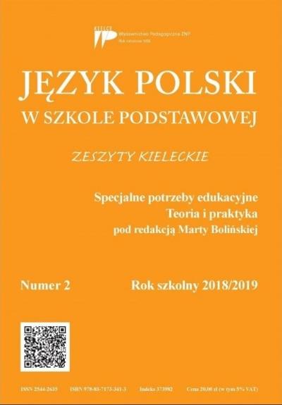 Język polski w szkole podstawowej nr 2 2018/2019 praca zbiorowa