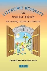Literowe komnaty czyli magiczne sposoby na nauke pisania i czytania część 1 Danuta Gmosińska, Violeta Woźniak