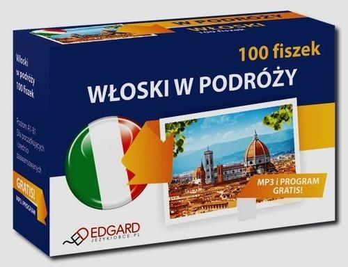 Włoski W podróży 100 fiszek Wąsowski Wojciech
