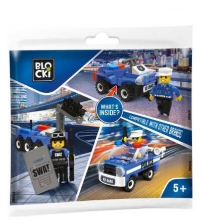 Klocki plastikowe Icom My Police saszetka (KB0641)