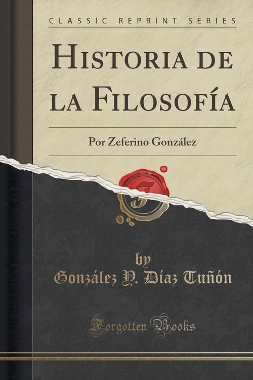Historia de la Filosof?a Tu??n Gonz?lez Y. D?az
