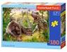 Puzzle 100: Dinosaur Battle
