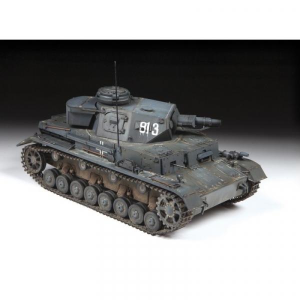 Panzer IV Ausf.E Sd.Kfz.161 niemiecki czołg średni WWII (3641)
