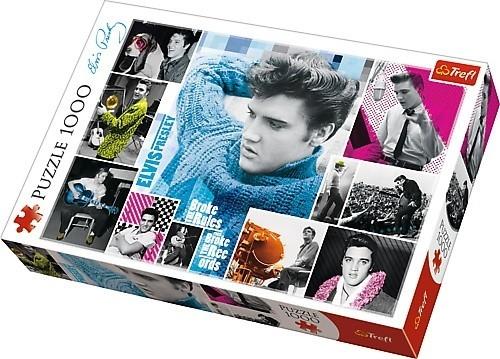 Puzzle 1000 elementów - Elvis Presley, wiecznie młody (10541)