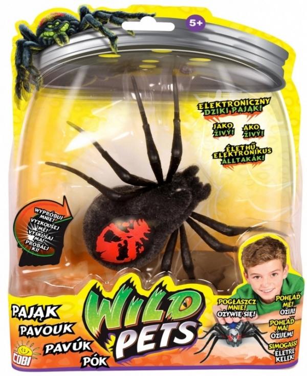 WILD PETS Interaktywny pajak, Creepster (MO-29016-4)