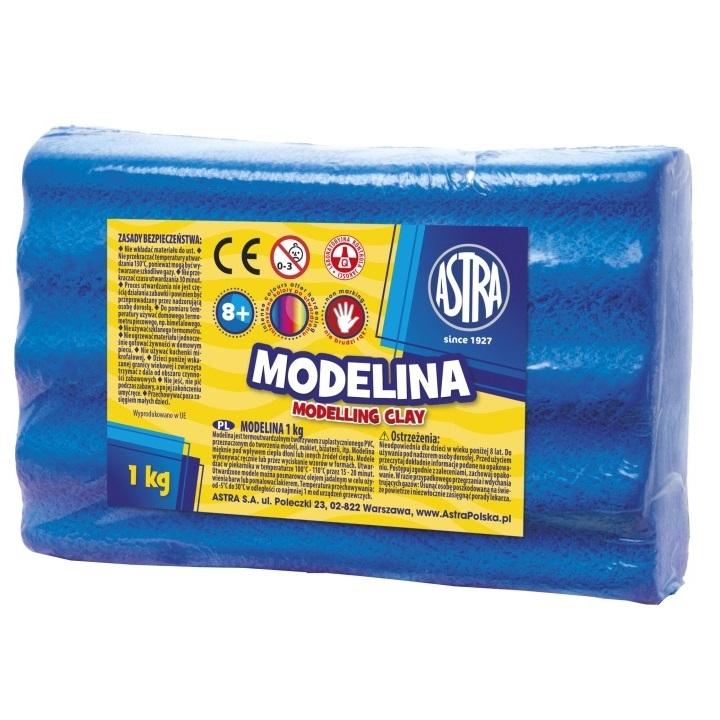 Modelina Astra, 1 kg - niebieska (304111010)