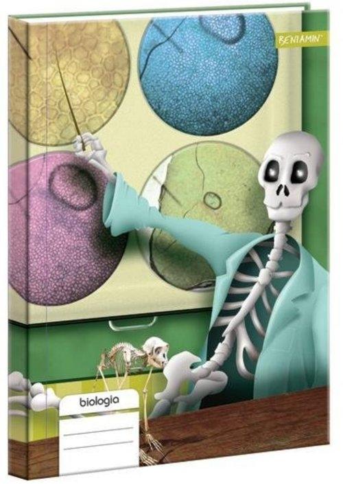 Brulion A5 Biologia w kratkę 80 kartek
