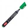 Marker pemanentny napełnialny ścięty zielony TO-22142
