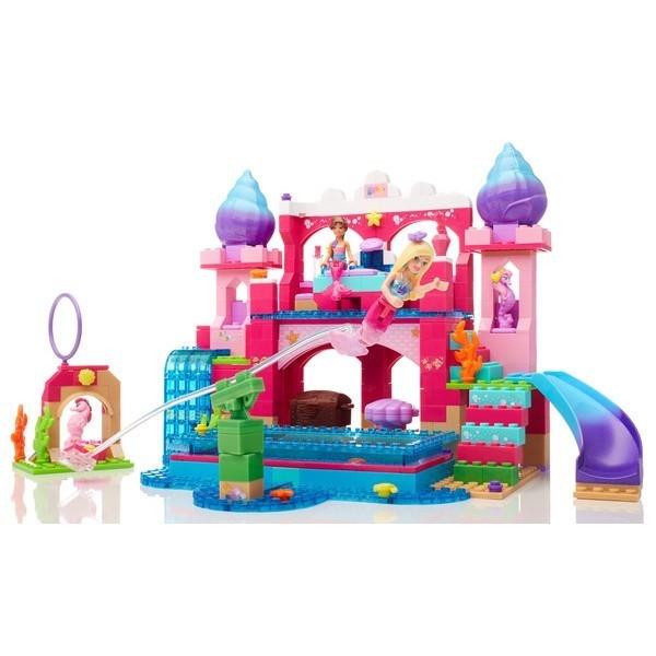 MEGA BLOKS Barbie podwodny zamek