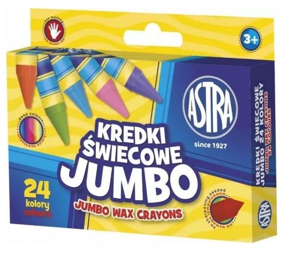 Kredki świecowe jumbo 24 kolory (316118006)