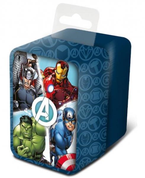 Zegarek analogowy w metalowym opakowaniu - Avengers (MV15784)