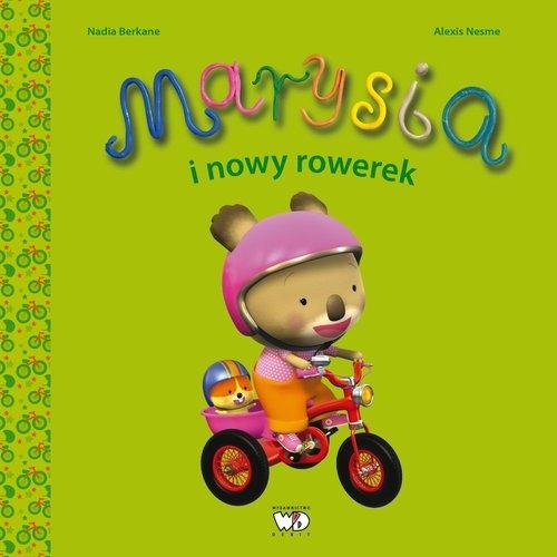 Marysia i nowy rowerek Berkane Nadia