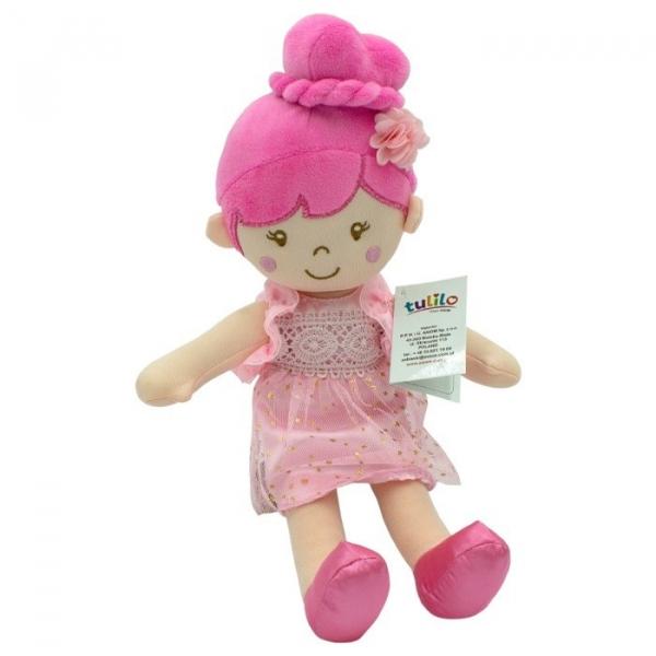Lalka Sonia różowa sukienka 30 cm (5081a)