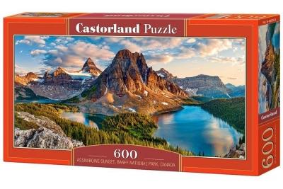 Puzzle Assiniboine Sunset, Banff National Park 600 (B-060023)