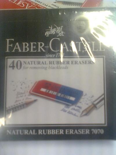Gumki do wymazywania Faber Castell (187040)