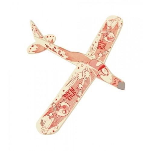 Model samolotu do składania czerwony (711041)
