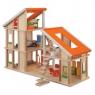 Domek dla lalek z meblami (PLTO-7141)