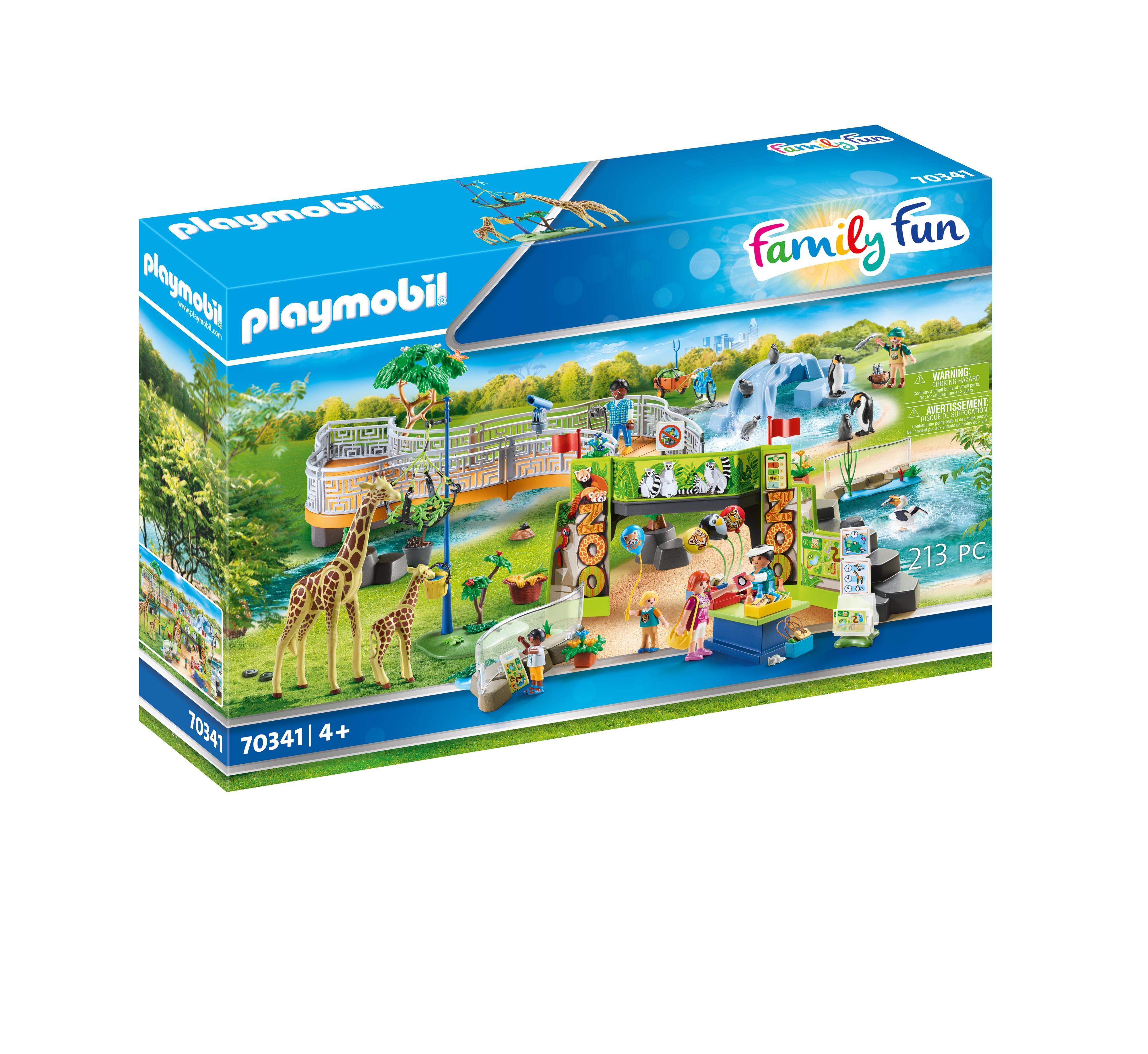 Playmobil Family Fun: Przygoda w ZOO (70341)