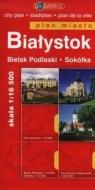 Białystok Biels Podlaski Sokółka plan miasta
