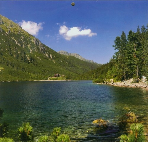 Kalendarz 2013 Jezioro trójdzielny