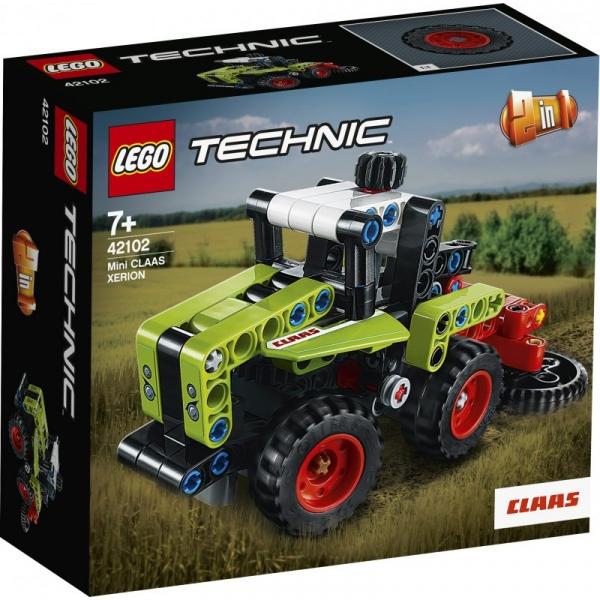 Lego Technic: Mini CLAAS XERION (42102) (Uszkodzone opakowanie)