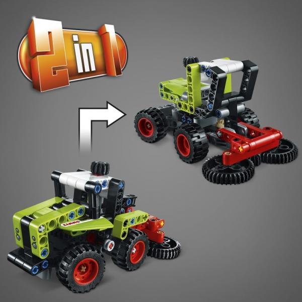 Lego Technic: Mini CLAAS XERION (42102)