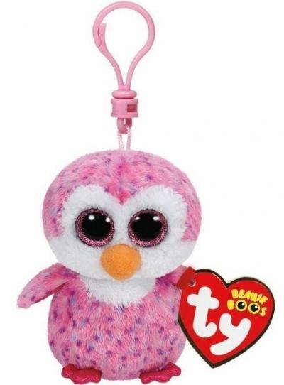 Maskotka brelok Beanie Boos Gilder - Różowy Pingwin (TY 36641)
