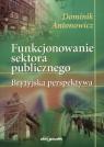 Funkcjonowanie sektora publicznego Dominik  Antonowicz