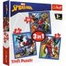 Puzzle 3w1: Spider-Man Pajęcza siła (34841)