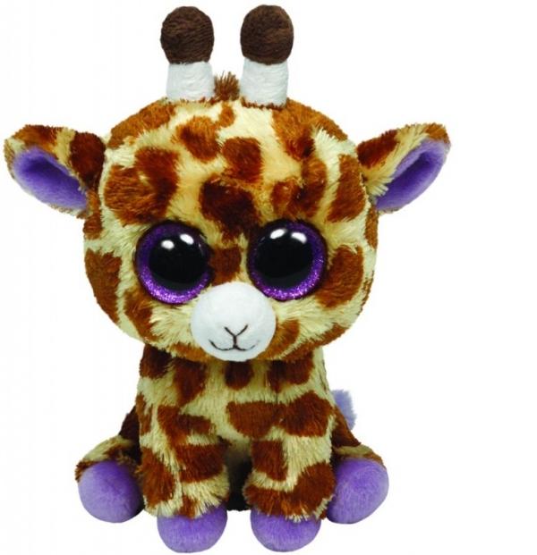 TY Beanie Boos Safari - żyrafa, 15 cm (36011)