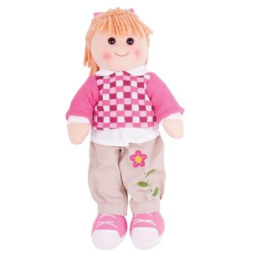 Lalka Melanie - Sweter w kratkę
