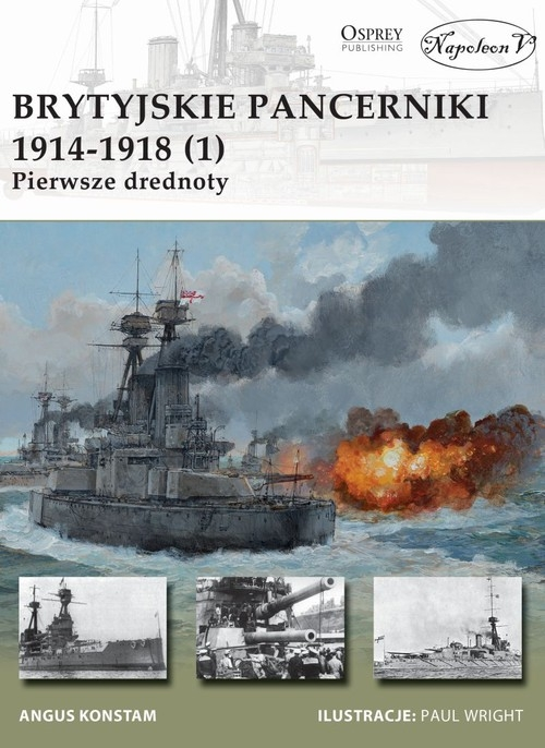 Brytyjskie pancerniki 1914-1918 (1) Konstam Angus