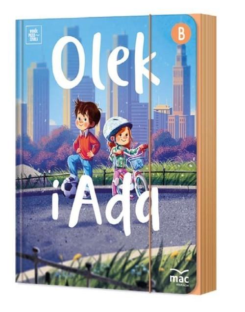Olek i Ada na szalku przygód Pięciolatek Poziom B Fabiszewska Iwona, Wilk Klaudia, Żaba-Żabińska Wiesława