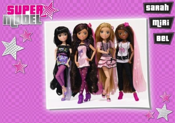 SIMBA Super Model Chic Hairstyle Lalka (105634441)