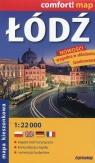 Łódź mapa kieszonkowa 1:22 000