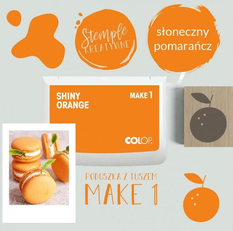 Poduszka do stempli Make 1 - słoneczny pomarańcz (155116)