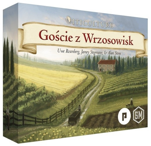 Gra Viticulture: Goście z Wrzosowisk - Dodatek (11076)