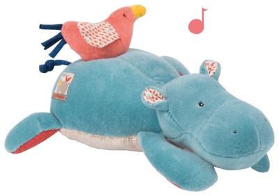 Maskotka z pozytywką HIPPO   (658041)