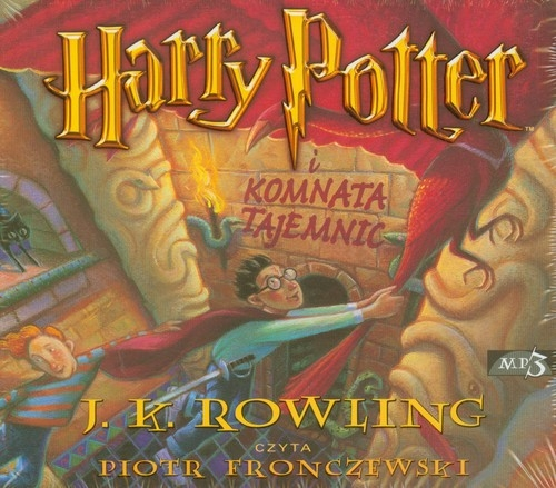 Harry Potter i Komnata Tajemnic (Audiobook) Rowling Joanne K.