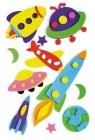 Ozdoba dekoracyjna piankowa rakiety