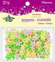 Dodatek dekoracyjny Titanum pastelowy mix 14g